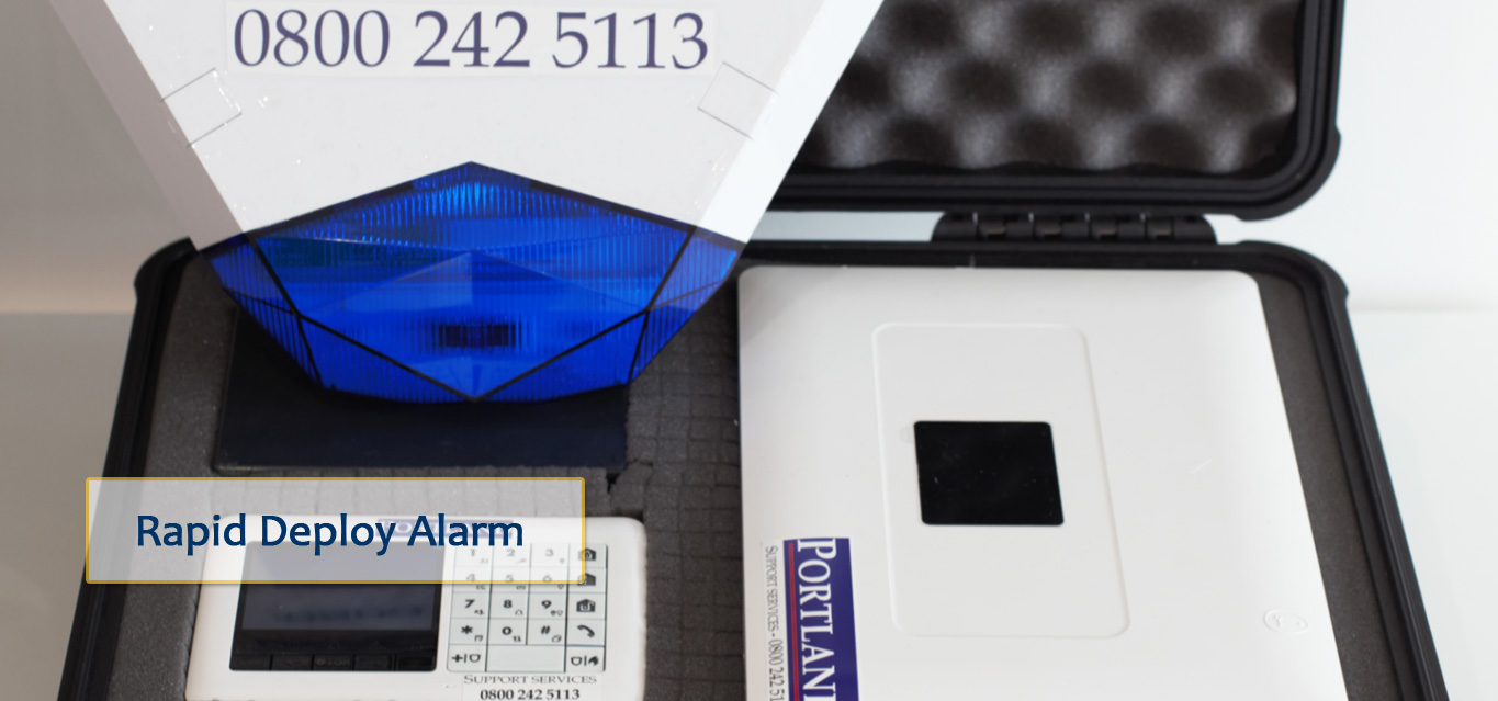 Rapid Battery Empty Property Alarm