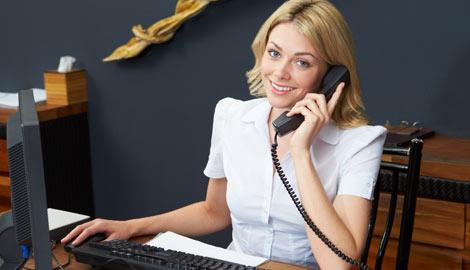 Reception Admin Staff